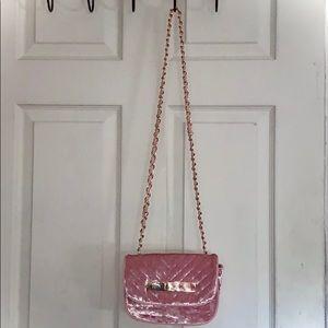 💗✨ Call It Spring Pink Velvet Purse 👛